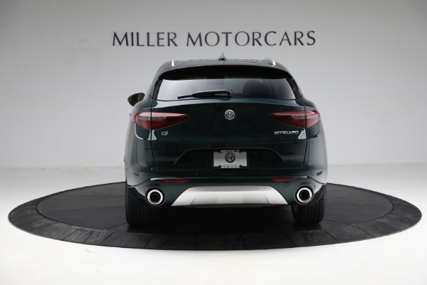 New 2021 Alfa Romeo Stelvio Ti Q4 for sale $55,205 at Bentley Greenwich in Greenwich CT 06830 6