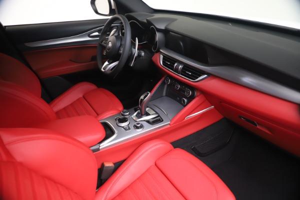 New 2021 Alfa Romeo Stelvio Ti Sport Q4 for sale Call for price at Bentley Greenwich in Greenwich CT 06830 18