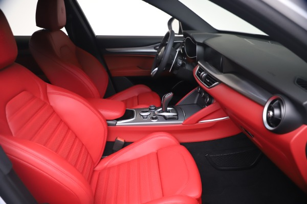 New 2021 Alfa Romeo Stelvio Ti Sport Q4 for sale Call for price at Bentley Greenwich in Greenwich CT 06830 19
