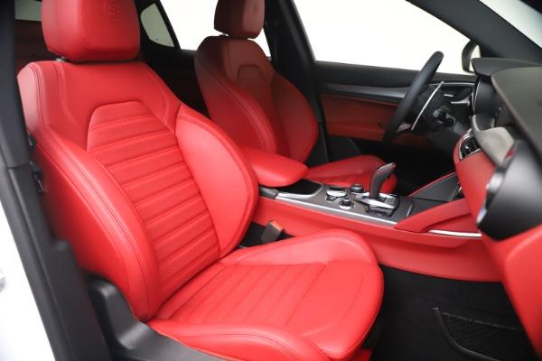 New 2021 Alfa Romeo Stelvio Ti Sport Q4 for sale Call for price at Bentley Greenwich in Greenwich CT 06830 20