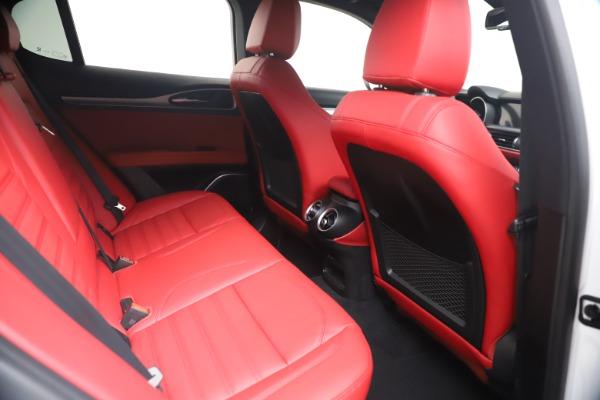 New 2021 Alfa Romeo Stelvio Ti Sport Q4 for sale Call for price at Bentley Greenwich in Greenwich CT 06830 21