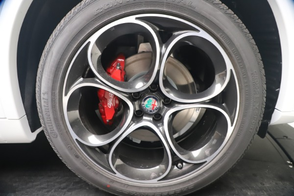New 2021 Alfa Romeo Stelvio Ti Sport Q4 for sale Call for price at Bentley Greenwich in Greenwich CT 06830 22
