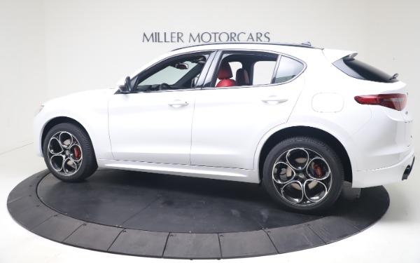New 2021 Alfa Romeo Stelvio Ti Sport Q4 for sale Call for price at Bentley Greenwich in Greenwich CT 06830 4