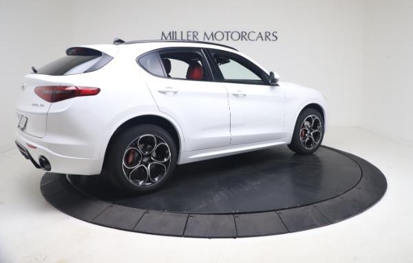 New 2021 Alfa Romeo Stelvio Ti Sport Q4 for sale Call for price at Bentley Greenwich in Greenwich CT 06830 8