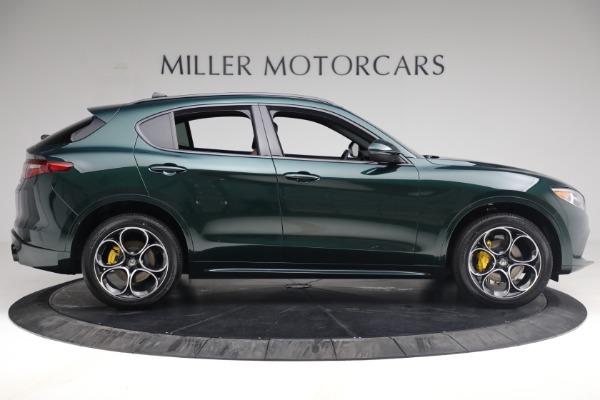 New 2021 Alfa Romeo Stelvio Ti Sport Q4 for sale Sold at Bentley Greenwich in Greenwich CT 06830 9