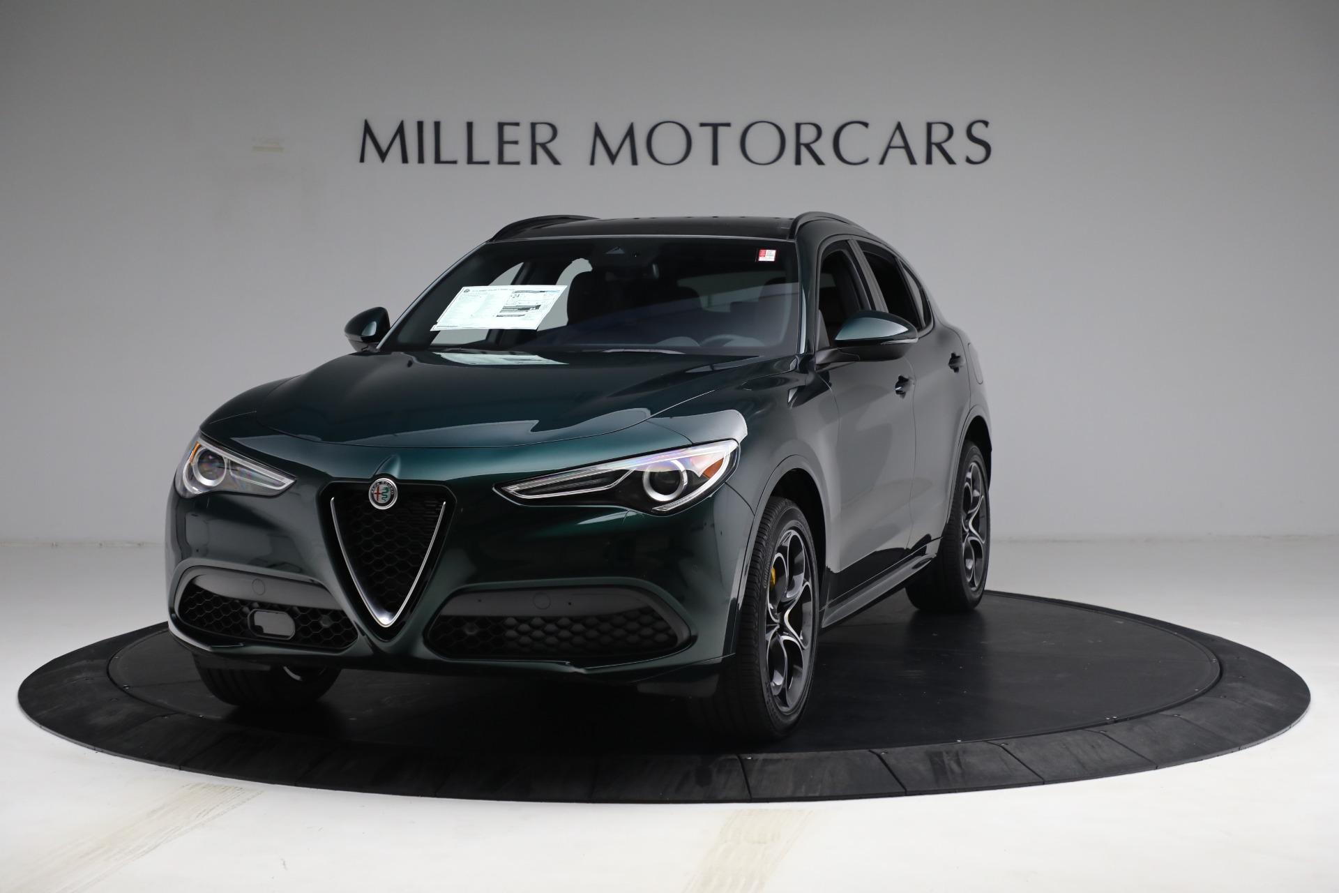 New 2021 Alfa Romeo Stelvio Ti Sport Q4 for sale Sold at Bentley Greenwich in Greenwich CT 06830 1