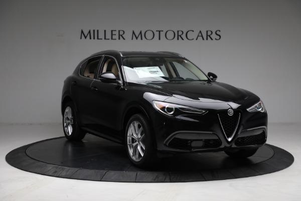 New 2021 Alfa Romeo Stelvio Ti Q4 for sale $57,400 at Bentley Greenwich in Greenwich CT 06830 11