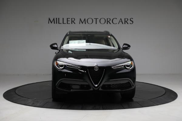 New 2021 Alfa Romeo Stelvio Ti Q4 for sale $57,400 at Bentley Greenwich in Greenwich CT 06830 12