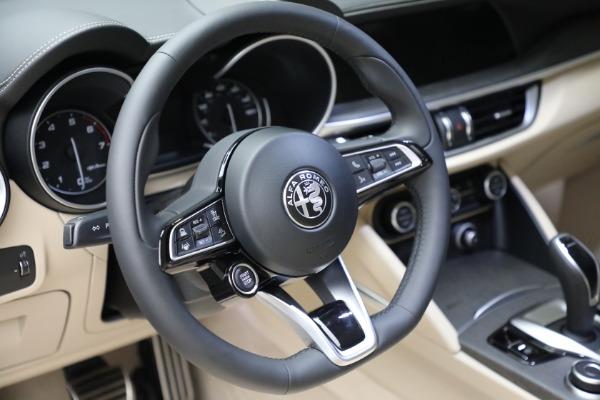 New 2021 Alfa Romeo Stelvio Ti Q4 for sale $57,400 at Bentley Greenwich in Greenwich CT 06830 19