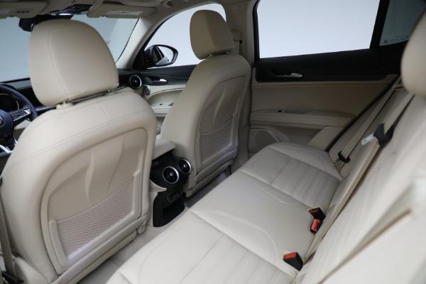 New 2021 Alfa Romeo Stelvio Ti Q4 for sale $57,400 at Bentley Greenwich in Greenwich CT 06830 25