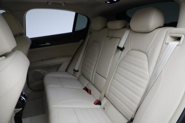 New 2021 Alfa Romeo Stelvio Ti Q4 for sale $57,400 at Bentley Greenwich in Greenwich CT 06830 27