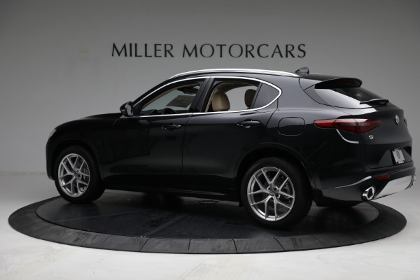 New 2021 Alfa Romeo Stelvio Ti Q4 for sale $57,400 at Bentley Greenwich in Greenwich CT 06830 4
