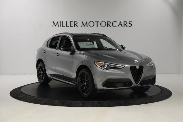 New 2021 Alfa Romeo Stelvio Ti Q4 for sale $54,400 at Bentley Greenwich in Greenwich CT 06830 10