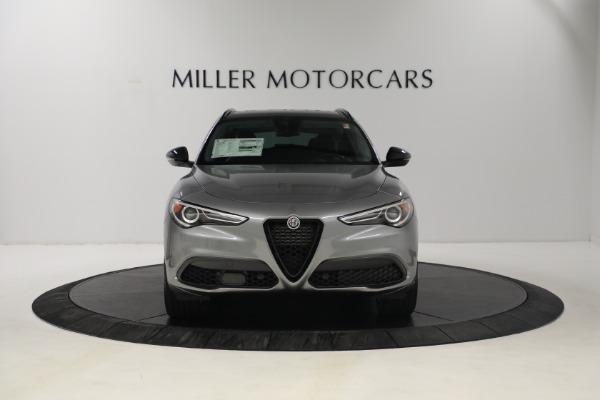 New 2021 Alfa Romeo Stelvio Ti Q4 for sale $54,400 at Bentley Greenwich in Greenwich CT 06830 11