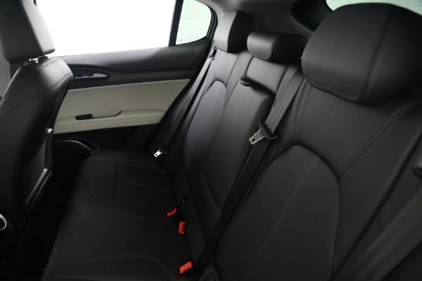 New 2021 Alfa Romeo Stelvio Ti Q4 for sale $54,400 at Bentley Greenwich in Greenwich CT 06830 19