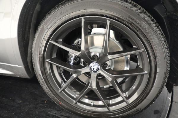 New 2021 Alfa Romeo Stelvio Ti Q4 for sale $54,400 at Bentley Greenwich in Greenwich CT 06830 25