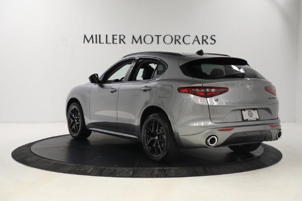 New 2021 Alfa Romeo Stelvio Ti Q4 for sale $54,400 at Bentley Greenwich in Greenwich CT 06830 5