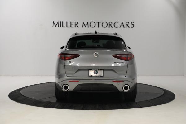 New 2021 Alfa Romeo Stelvio Ti Q4 for sale $54,400 at Bentley Greenwich in Greenwich CT 06830 6
