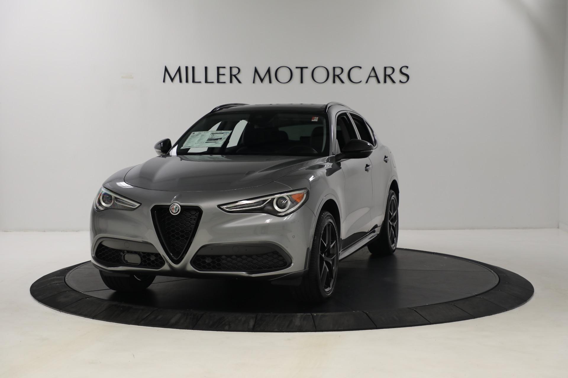New 2021 Alfa Romeo Stelvio Ti Q4 for sale $54,400 at Bentley Greenwich in Greenwich CT 06830 1