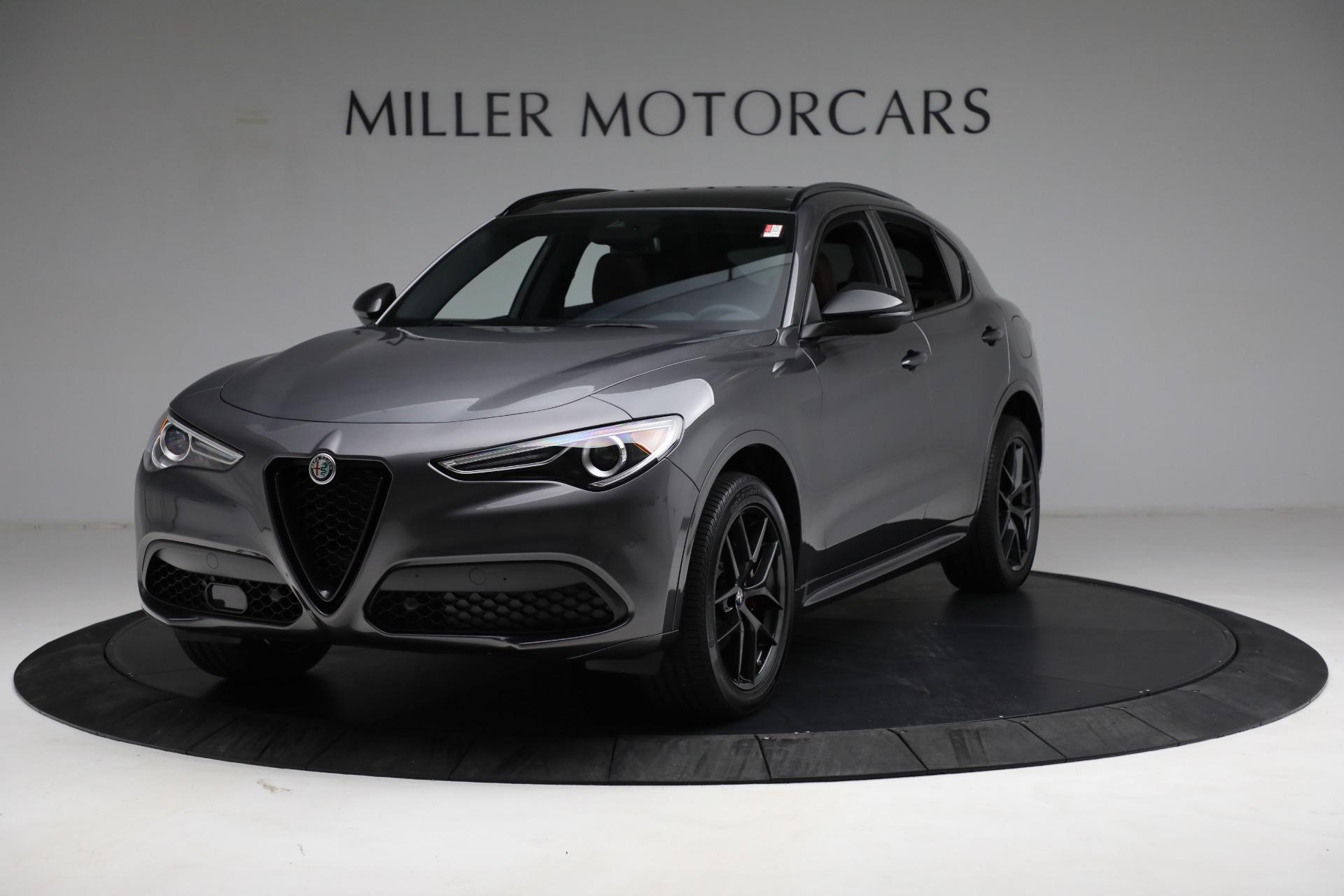 New 2021 Alfa Romeo Stelvio Ti Sport Q4 for sale $55,205 at Bentley Greenwich in Greenwich CT 06830 1