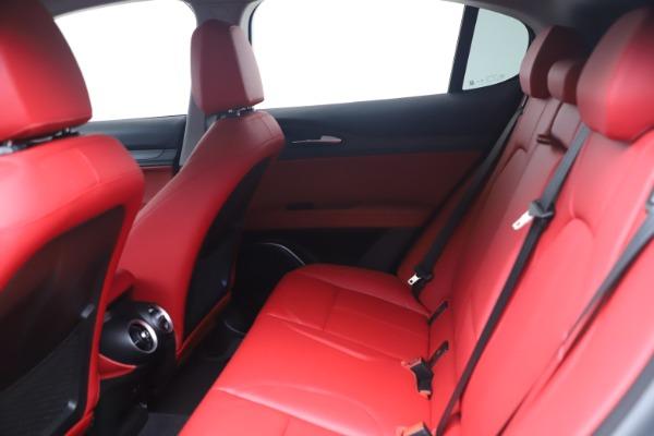 New 2021 Alfa Romeo Stelvio Ti Q4 for sale $54,400 at Bentley Greenwich in Greenwich CT 06830 14