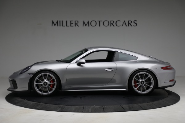 Used 2018 Porsche 911 GT3 Touring for sale Sold at Bentley Greenwich in Greenwich CT 06830 3