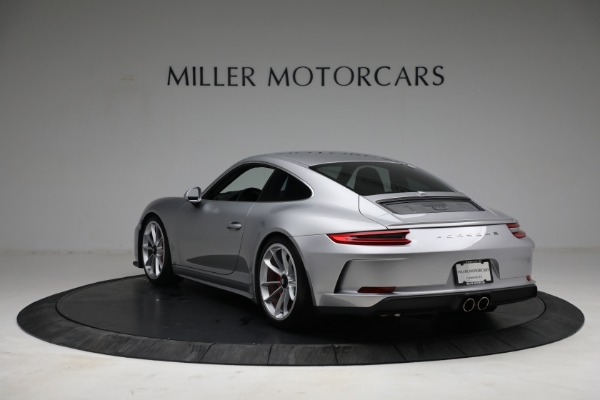 Used 2018 Porsche 911 GT3 Touring for sale Sold at Bentley Greenwich in Greenwich CT 06830 5