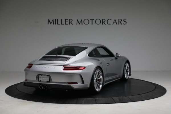 Used 2018 Porsche 911 GT3 Touring for sale Sold at Bentley Greenwich in Greenwich CT 06830 7