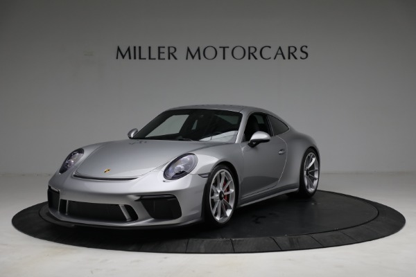 Used 2018 Porsche 911 GT3 Touring for sale Sold at Bentley Greenwich in Greenwich CT 06830 1