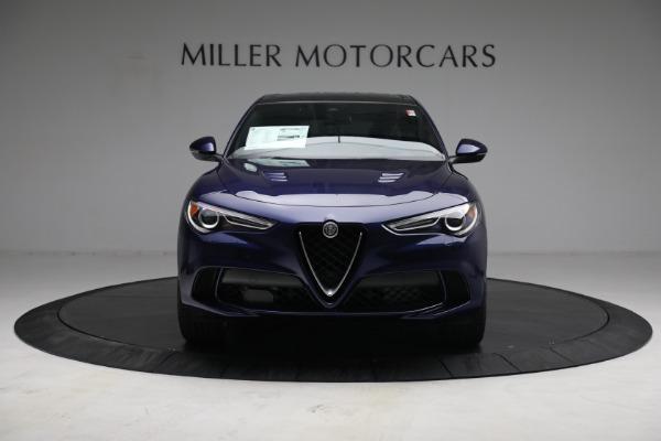 New 2021 Alfa Romeo Stelvio Quadrifoglio for sale $88,550 at Bentley Greenwich in Greenwich CT 06830 12
