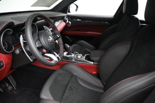New 2021 Alfa Romeo Stelvio Quadrifoglio for sale $88,550 at Bentley Greenwich in Greenwich CT 06830 13