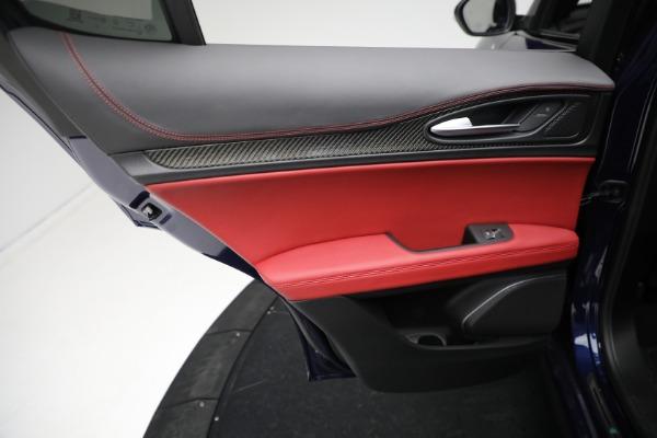 New 2021 Alfa Romeo Stelvio Quadrifoglio for sale $88,550 at Bentley Greenwich in Greenwich CT 06830 20