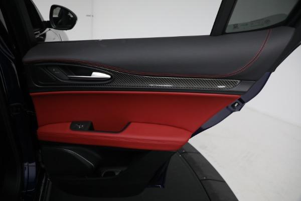 New 2021 Alfa Romeo Stelvio Quadrifoglio for sale $88,550 at Bentley Greenwich in Greenwich CT 06830 26