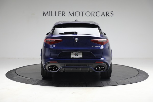 New 2021 Alfa Romeo Stelvio Quadrifoglio for sale $88,550 at Bentley Greenwich in Greenwich CT 06830 7