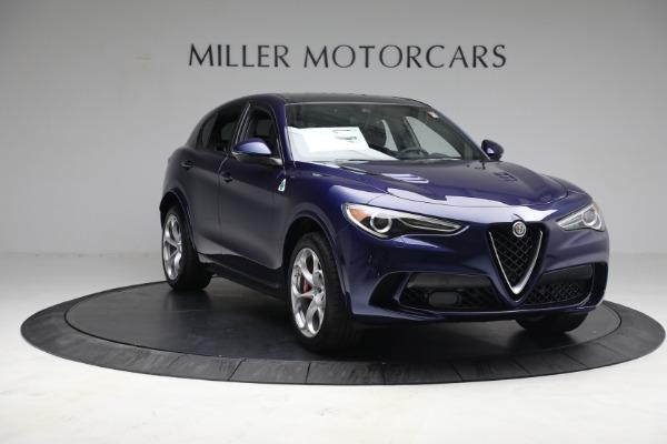 New 2021 Alfa Romeo Stelvio Quadrifoglio for sale $88,550 at Bentley Greenwich in Greenwich CT 06830 10