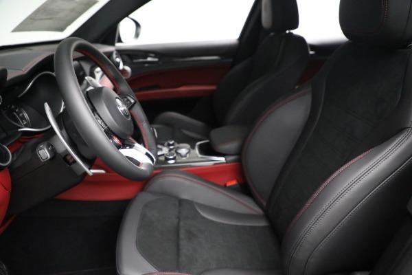 New 2021 Alfa Romeo Stelvio Quadrifoglio for sale $88,550 at Bentley Greenwich in Greenwich CT 06830 14