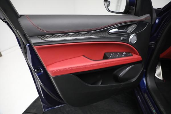 New 2021 Alfa Romeo Stelvio Quadrifoglio for sale $88,550 at Bentley Greenwich in Greenwich CT 06830 16