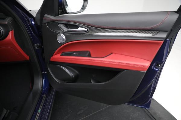 New 2021 Alfa Romeo Stelvio Quadrifoglio for sale $88,550 at Bentley Greenwich in Greenwich CT 06830 23