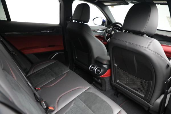New 2021 Alfa Romeo Stelvio Quadrifoglio for sale $88,550 at Bentley Greenwich in Greenwich CT 06830 24