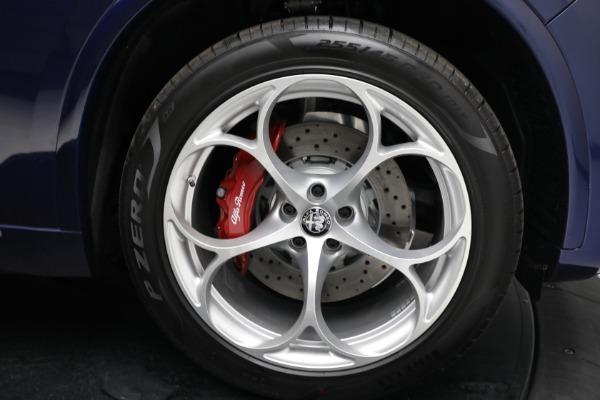 New 2021 Alfa Romeo Stelvio Quadrifoglio for sale $88,550 at Bentley Greenwich in Greenwich CT 06830 27