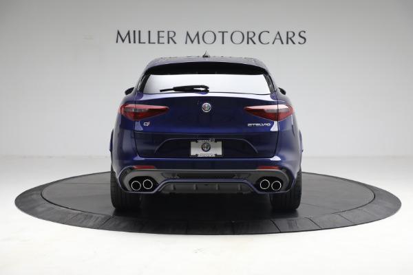 New 2021 Alfa Romeo Stelvio Quadrifoglio for sale $88,550 at Bentley Greenwich in Greenwich CT 06830 6