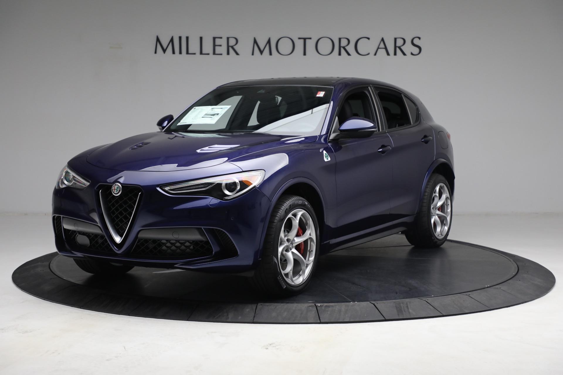 New 2021 Alfa Romeo Stelvio Quadrifoglio for sale $88,550 at Bentley Greenwich in Greenwich CT 06830 1