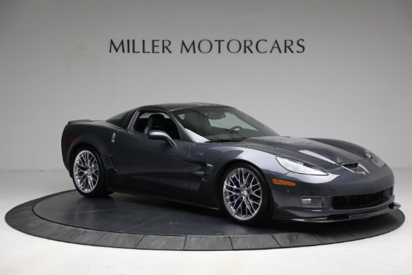 Used 2010 Chevrolet Corvette ZR1 for sale Call for price at Bentley Greenwich in Greenwich CT 06830 10