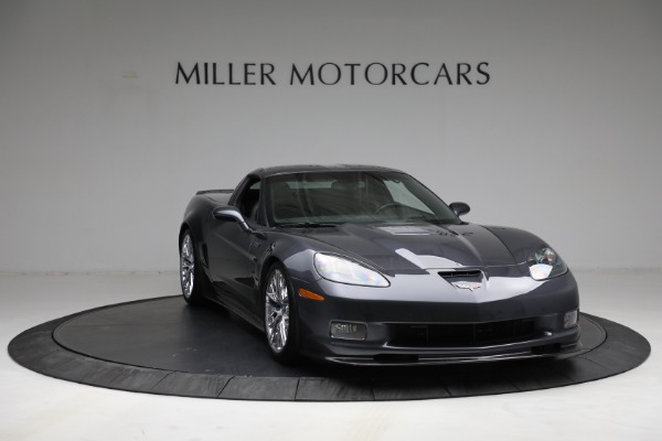 Used 2010 Chevrolet Corvette ZR1 for sale Call for price at Bentley Greenwich in Greenwich CT 06830 11