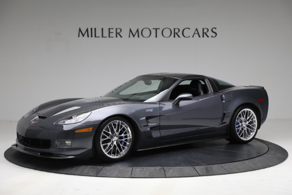 Used 2010 Chevrolet Corvette ZR1 for sale Call for price at Bentley Greenwich in Greenwich CT 06830 2