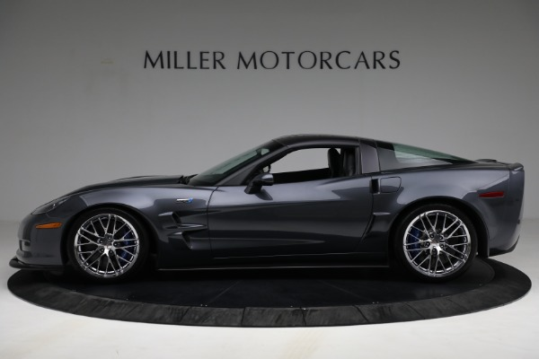 Used 2010 Chevrolet Corvette ZR1 for sale Call for price at Bentley Greenwich in Greenwich CT 06830 3