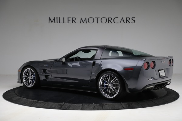 Used 2010 Chevrolet Corvette ZR1 for sale Call for price at Bentley Greenwich in Greenwich CT 06830 4