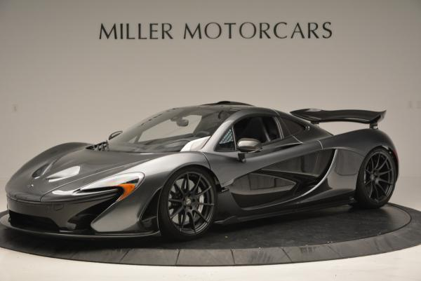 Used 2014 McLaren P1 Coupe for sale Call for price at Bentley Greenwich in Greenwich CT 06830 2