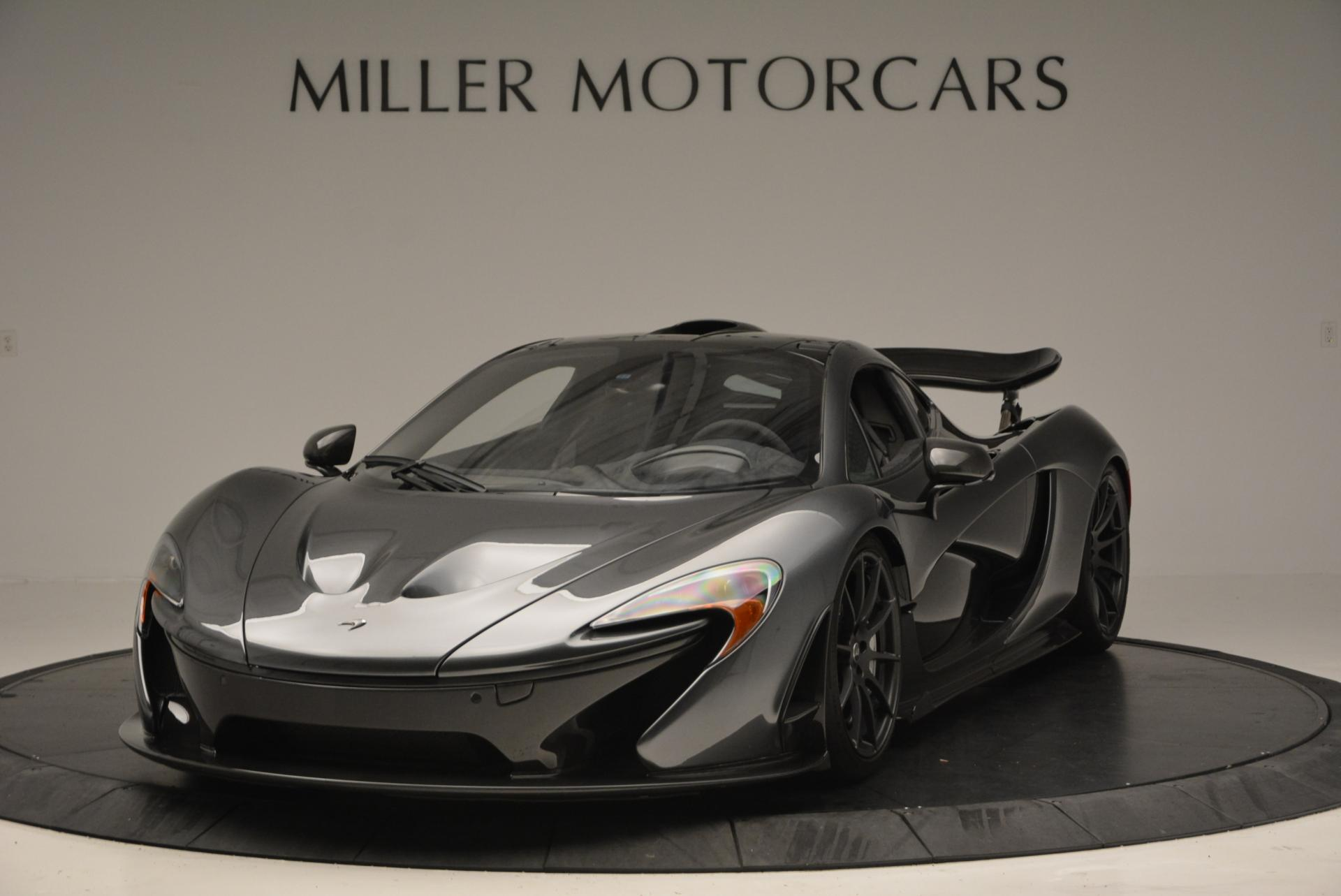 Used 2014 McLaren P1 Coupe for sale Call for price at Bentley Greenwich in Greenwich CT 06830 1