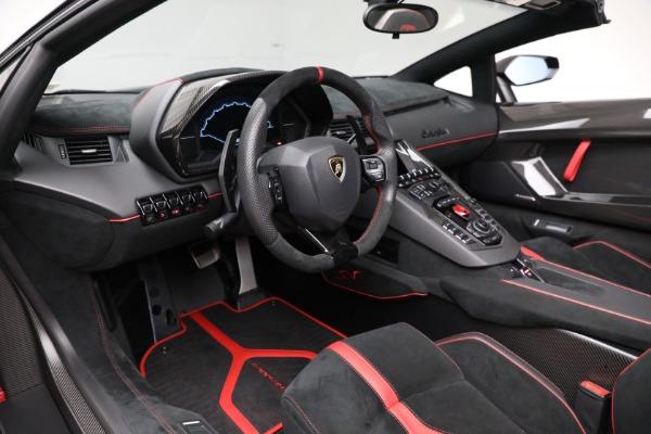 Used 2017 Lamborghini Aventador LP 750-4 SV for sale $599,900 at Bentley Greenwich in Greenwich CT 06830 19